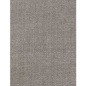 Chester - Taupe - Plain silk fabric with grey colour