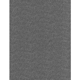Wellington - Charcoal - Dark grey and white threads woven into fabric with a small, subtle pattern of short, random dashed lines