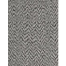 Wellington - Platinum - A subtle, dashed, zigzag stripe design on fabric in white and light grey