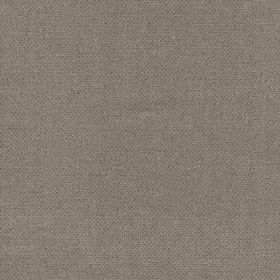 Castello - Dark Natural - Plain fabric made from 100% linen in a dark, versatile shade of grey