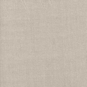 Castello - Natural - Light dove grey coloured plain fabric made from 100% linen
