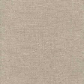 Piccolomini - Natural - Classic cement grey coloured fabric made entirely from linen