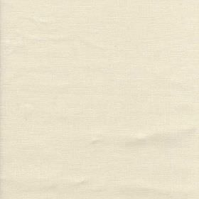Bardini - White - Fabric made from 100% linen in light, classic, fresh oyster white