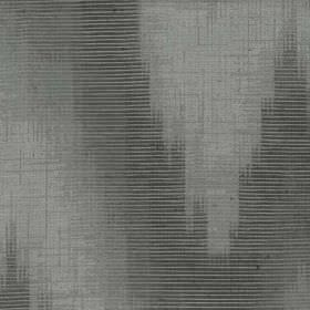 Aubrey - Silver - Fabric blended from two materials, featuring a patchily coloured, uneven, dark grey pattern with thin horizontal lines