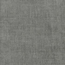 Bomore - Cloud - Steel grey coloured fabric woven from a mix of viscose, cotton, linen and polyester