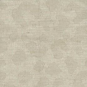 Clarendon - Tusk - Cotton, viscose, acrylic, linen and polyester blend fabric made in light creamy grey, with a very subtle abstract pattern