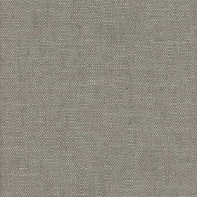 Ossington - Taupe - A few thin pale grey coloured threads woven into iron grey coloured viscose and linen blend fabric