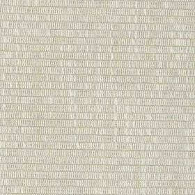 Westbourne - Ivory - 2 light shades of grey making up rows of short, thin dashed lines on fabric made from viscose, cotton, linen and polyeste