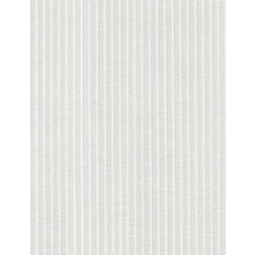 Boudin - Ivory - White fabric with vertical stripes which are raised and also white in colour