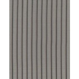 Brunel - Platinum - A pattern of regular, repeated, vertical stripes on this fabric in three different shades of grey