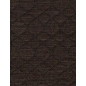Grasset - Hare - Subtly patterned, ridged cotton fabric in dark grey-brown