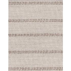 Kato - Buff - Dark brown flecks arranged in horizontal rows on light brown coloured fabric