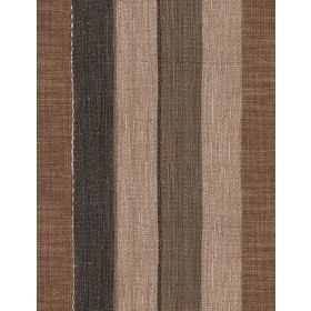 Es Cavallet - 1 - Fabric with bold charcoal, beige and grey stripes