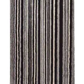 Richter - Graphite - Fabric with narrow stripes of shades of grey and black