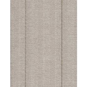 Rudder - Linen - Fabric in light grey with darker stripes