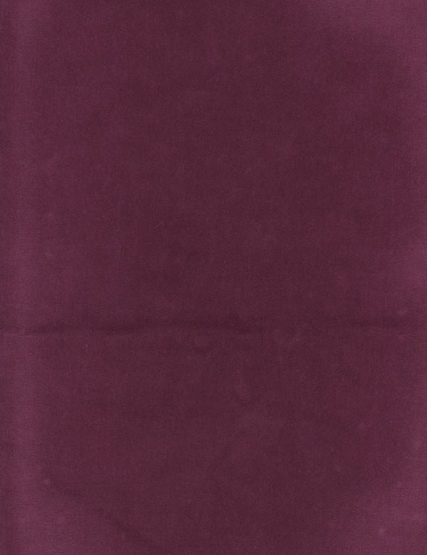 Caraiva - Anemone - Cotton and polyester blend fabric made in a sumptuous aubergine colour