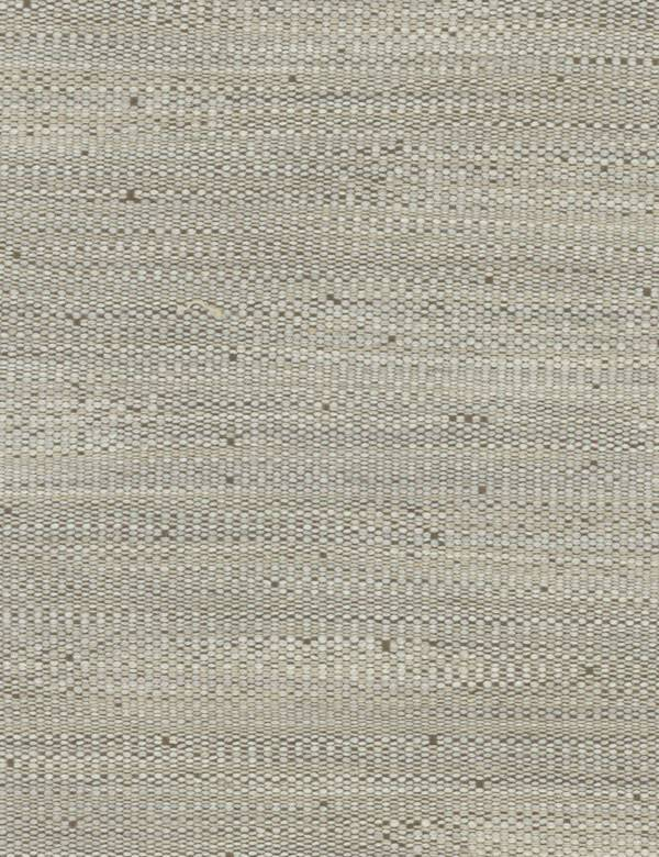 Hanabana - Natural - Chalk white coloured cotton, linen, polyester and viscose, woven with a few dark grey coloured flecks