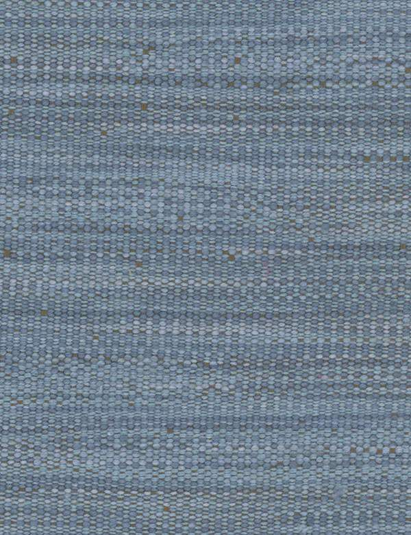 Hanabana - Denim - Cotton, linen, polyester and viscose blend fabric woven using threads in iron grey & various light, fresh shades of blue
