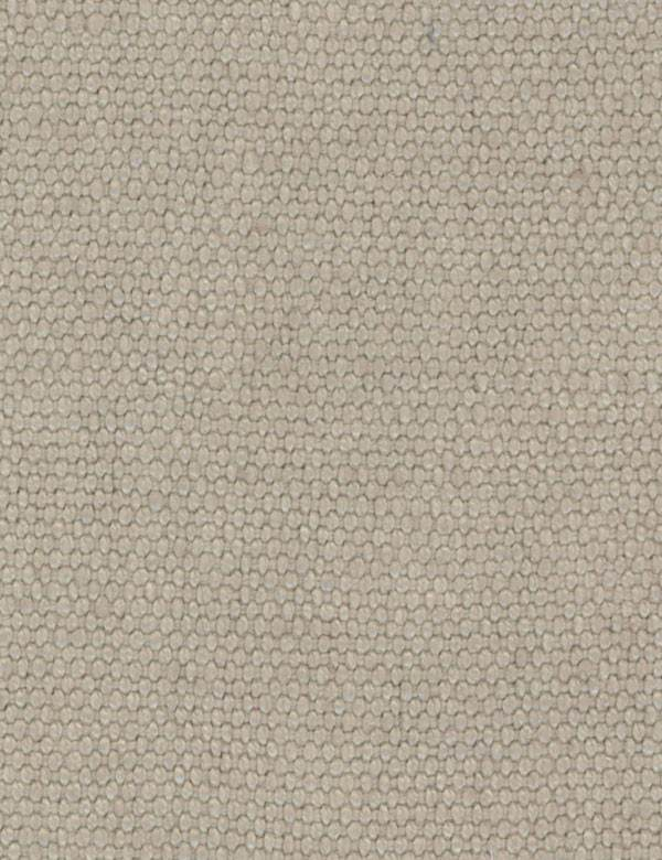 Moqote - Stone - Light silver-grey coloured fabric woven from high quality 100% linen