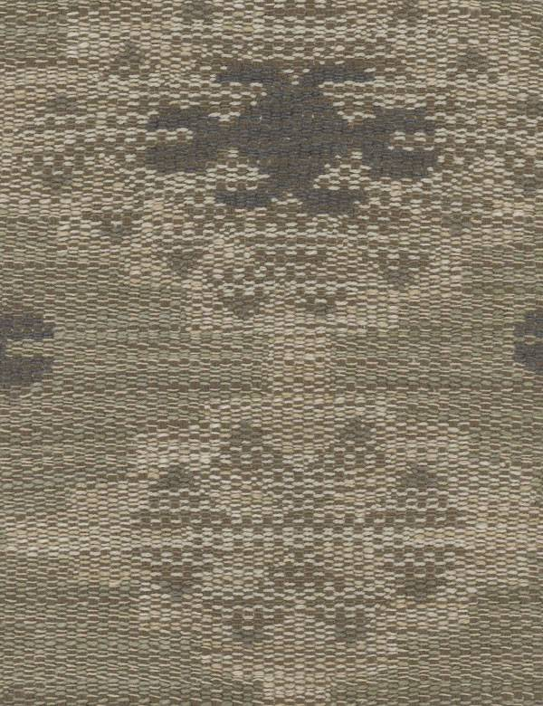 Orillo - Natural - Light and dark shades of grey making up a cotton, viscose and linen blend fabric with ethnic tribal style patterns