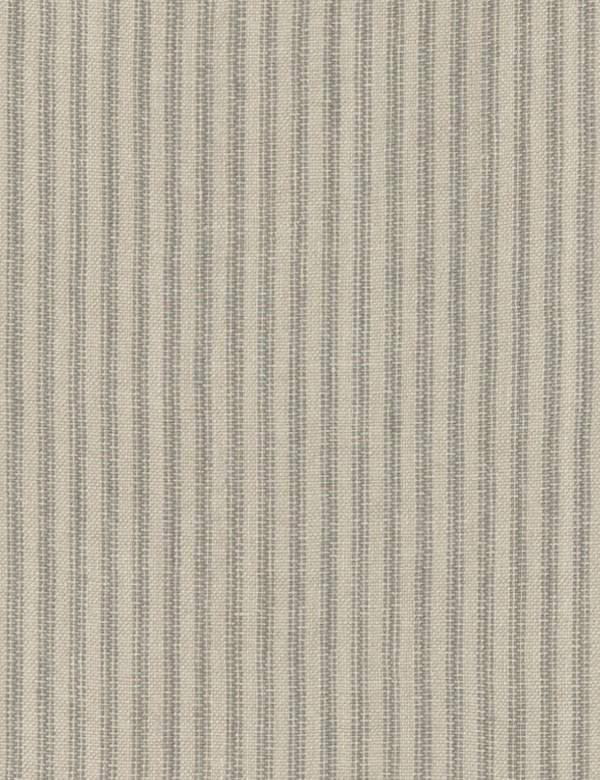 Pico - Cloud - Simple, dotted vertical stripes arranged at even intervals over 100% linen fabric in two different light shades of grey