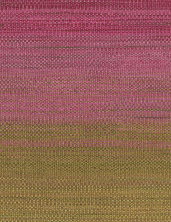 Bonito - Pink - Bubblegum pink coloured cotton, linen, polyester and viscsoe blend fabric woven with some grey and dark pink threads