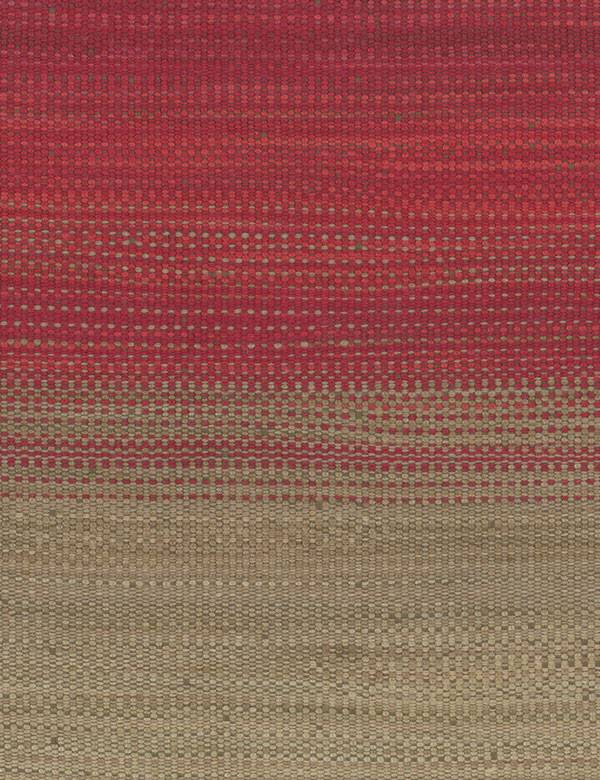 Bonito - Red - Light grey and various deep, rich shades of red woven together into a cotton, linen, polyester and viscose blend fabric