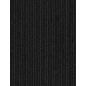 Finsbury Stripe - Graphite - Plain fabric in dark grey
