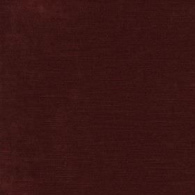 Ovington - Red - Dark, indulgent wine coloured viscose, cotton and polyester blend fabric
