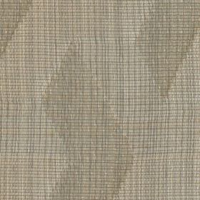 Mesh - Bronze - Two shades of beige making up very thin lines and a geometric pattern on linen, viscose and polyester blend fabric