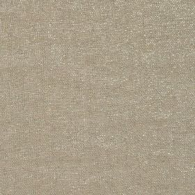Glitter - Gold - Plain dove grey coloured linen and polyester blend fabric scattered with a few very subtle, small white flecks