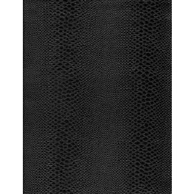 Viper - Ebony - Plain fabric in black