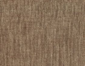 Brunel Plain - Chocolate - Slightly streaky, patchily coloured dark brown-grey 100% linen fabric featuring some white threads and light grey