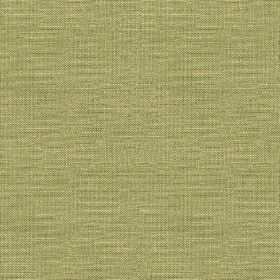 Brunel Plain - Leaf - Cream and light grey coloured fabric made from 100% linen, woven with subtle horizontal streak design