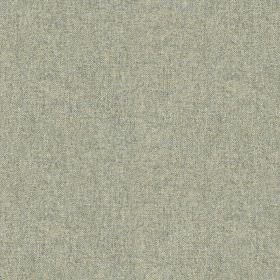 Elgar Wool Plain - Aqua - Very subtly speckled light silver-grey coloured 100% wool fabric
