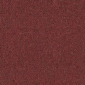 Elgar Wool Plain - Burnt Umber - Deep wine coloured 100% wool fabric featuring a very subtle dark grey patchily coloured finish
