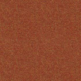 Elgar Wool Plain - Lava - Light shades of red and sandy brown making up a patchily coloured effect on 100% wool fabric