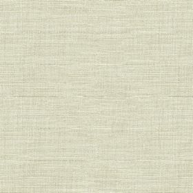 Downham - Bayleaf - Very subtle icy grey and bright white coloured streaks running horizontally across 100% cotton fabric