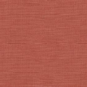 Downham - Coral - A very subtle horizontal streak effect finishing dark pink-red coloured fabric made from 100% cotton