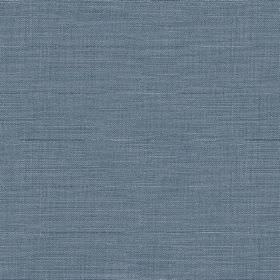 Downham - French Blue - Dusky denim blue coloured 100% cotton fabric, finished with a very subtle design of horizontal streaks