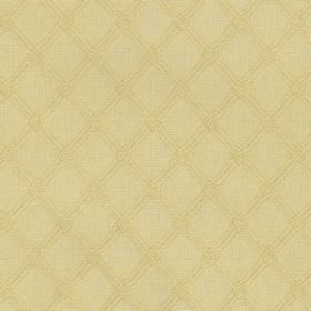 Ambleside Trellis - Corn - Two similar warm cream shades making up a subtle, simple, stylish diagonal grid design on fabric made from 100% c