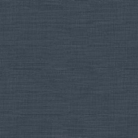 Downham - Indigo - Dark, luxurious navy blue coloured fabric featuring a subtle horizontally streaked finish