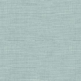 Downham - Powder Blue - Fabric made from powder blue coloured 100% cotton, featuring horizontal streaks in slightly lighter and darker shade