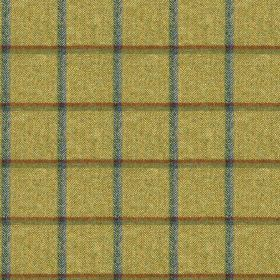 Fellside - Rosthwaite - A simple grid woven into 100% wool fabric made in creamy green, olive green and dusky blue shades