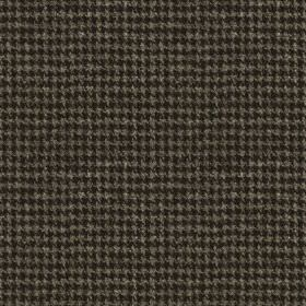 Harris Tweed Houndstooth - Slate Grey - Black and dark grey coloured houndstooth designs creating a very small, stylish pattern on 100% wool