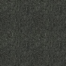 Harris Tweed Hebrides - Blackhouse Stone - Elegant, subtly speckled fabric woven from stylish charcoal and very dark grey coloured 100% wool
