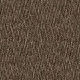 Harris Tweed Hebrides - Laxdale Brown - Dark purple-grey coloured 100% wool fabric woven with a few very subtle grey coloured threads