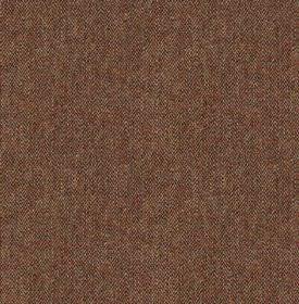 Harris Tweed Hebrides - Weathered Tin - Fabric made from 100% wool in deep maroon and grey colours, featuring a subtly speckled finish
