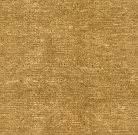 Ambleside Velvet - Gold - Luxurious caramel coloured 100% cotton fabric featuring a slightly lighter, patchily coloured finish