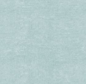 Ambleside Velvet - Spring Blue - Classic light sky blue coloured 100% cotton fabric, featuring a very subtle, slightly patchy finish
